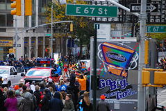 Líder para hombre Pack del maratón de 2014 NYC Fotografía de archivo libre de regalías