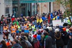 Líder para hombre Pack del maratón de 2014 NYC Imágenes de archivo libres de regalías