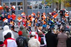 Líder para hombre Pack del maratón de 2014 NYC Foto de archivo