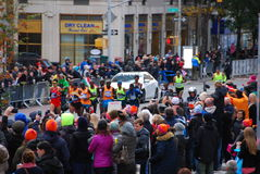 Líder para hombre Pack del maratón de 2014 NYC Fotos de archivo