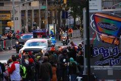 Líder para mujer Pack del maratón de 2014 NYC Fotografía de archivo libre de regalías
