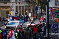 Líder para mujer Pack del maratón de 2014 NYC Foto de archivo