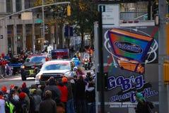 Líder para mujer Pack del maratón de 2014 NYC Fotos de archivo libres de regalías