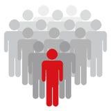 Líder Vetora Imagens de Stock Royalty Free