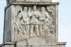 Líderes de la sublevación de los campesinos Horea, Closca y Crisan Imagen de archivo libre de regalías