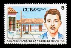 Líderes do estudante de Frank Pais (1934-1958), Rafael Maria Mendive, 30t Fotos de Stock