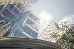 Líderes ricos do CEO do império de New York em Wall Street na conta de manhattan Fotos de Stock Royalty Free