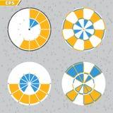 Límite de tiempo, plazo, ejemplo plano del concepto del vector del estilo del diseño de la cuenta descendiente libre illustration