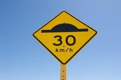 Límite de velocidad Foto de archivo libre de regalías