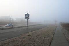 Límite de velocidad Fotografía de archivo