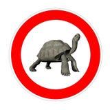 Límite de velocidad de la tortuga libre illustration