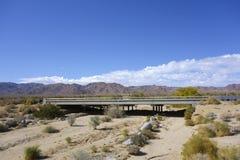 Límite del oeste Interstate-10 fotografía de archivo libre de regalías