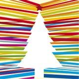 Línea árbol (vector) Foto de archivo