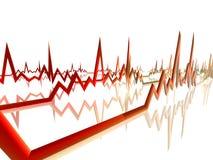 Línea 4 de EKG libre illustration