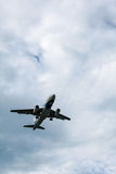 Línea aérea de los aviones Fotografía de archivo libre de regalías