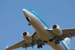 Línea aérea del Klm Imagenes de archivo