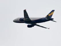 Línea aérea grande Donavia de Airbus A319-112 del pasajero Imágenes de archivo libres de regalías