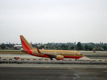 Línea aérea relacionada Imagen de archivo libre de regalías