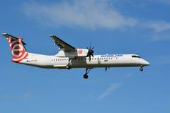 Línea aérea SP-EQF del polaco de Eurolot Fotografía de archivo libre de regalías