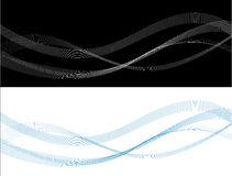 Línea abstracta stock de ilustración