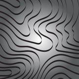 Línea abstracta de la cinta de la curva en Gray Background libre illustration