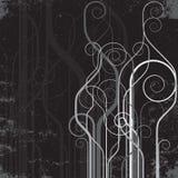 Línea abstracta fondo Imágenes de archivo libres de regalías