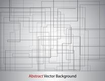 Línea abstracta fondo stock de ilustración