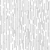 Línea abstracta modelo inconsútil de la ondulación Textura blanco y negro de la mancha blanca /negra de la ondulación libre illustration