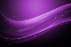 Línea abstracta y fondo púrpura ondulado Imagenes de archivo