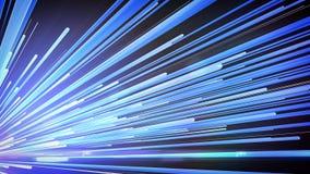 Línea azul de la velocidad Imágenes de archivo libres de regalías