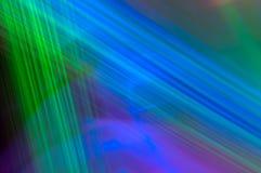 Línea azulverde del fondo abstracto Foto de archivo