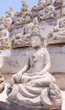 Línea blanca de Buda Fotografía de archivo libre de regalías