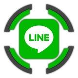 Línea botón libre illustration