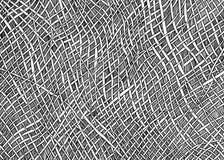 Línea cruzada modelo Imagen de archivo