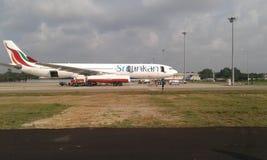 Línea de aire srilanquesa fotografía de archivo