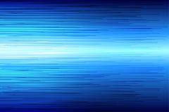 Línea de alta velocidad azul fondo del extracto Fotografía de archivo libre de regalías