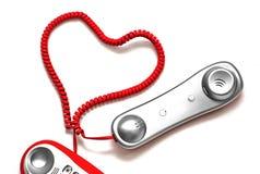 Línea de amor Fotografía de archivo libre de regalías