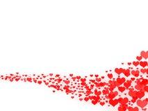 Línea de amor stock de ilustración
