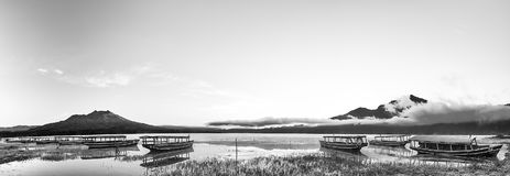 Línea de barcos Fotografía de archivo libre de regalías