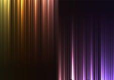 Línea de barra abstracta al revés del arco iris fondo Imagen de archivo