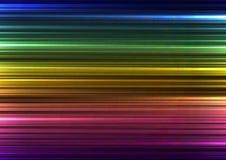 Línea de barra abstracta del arco iris fondo Fotos de archivo libres de regalías