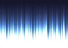 Línea de barra azul del extracto de la corriente fondo Foto de archivo libre de regalías