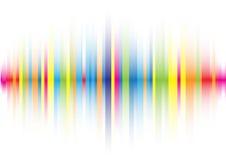 Línea de color abstracta fondo ilustración del vector