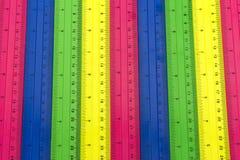 Línea de color de medición Foto de archivo libre de regalías