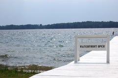 Línea de costa abierta Imagen de archivo