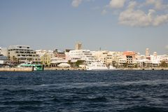 Línea de costa Bermudas Imagen de archivo libre de regalías