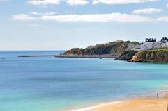 Línea de costa de Albufeira Fotos de archivo