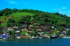 Línea de costa de Ganapatipule Imagen de archivo libre de regalías
