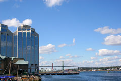 Línea de costa de Halifax fotografía de archivo