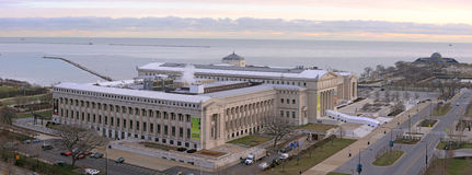 Línea de costa de la ciudad de Chicago foto de archivo libre de regalías